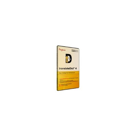 translateDict™ 4 <b>Deutsch-Englisch</b> CD-ROM