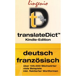 translateDict™ (Kindle-Edition) German-French