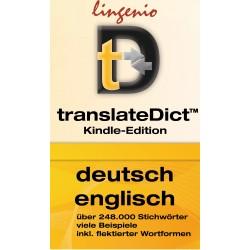 translateDict™ (Kindle-Edition) Allemand-Anglais