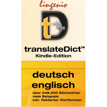 translateDict™ (Kindle-Edition) Deutsch-Englisch