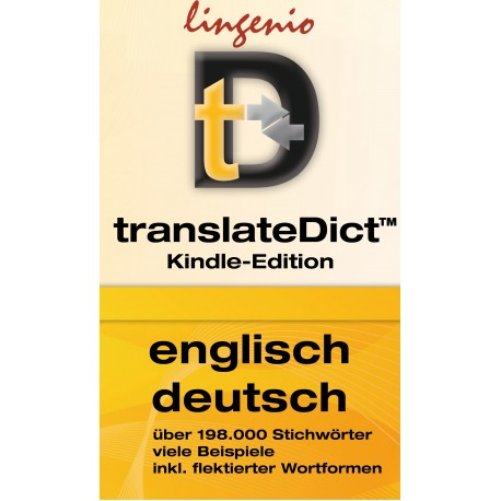 translateDict™ (Kindle-Edition) Englisch-Deutsch