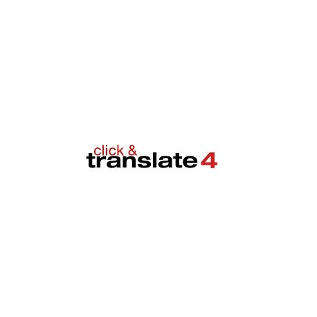 click&translate 4 <b>German-English </b> Download Edition