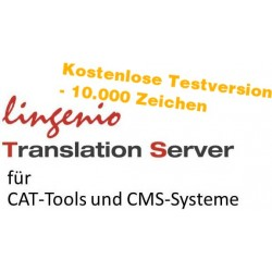 Lingenio Translation Server - Testversion
